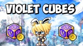 [MapleStory] Violet Cubes