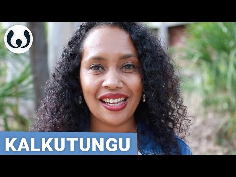 Sheree Speaking Kalkutungu And English | Aboriginal Australians And Torres Strait Islanders