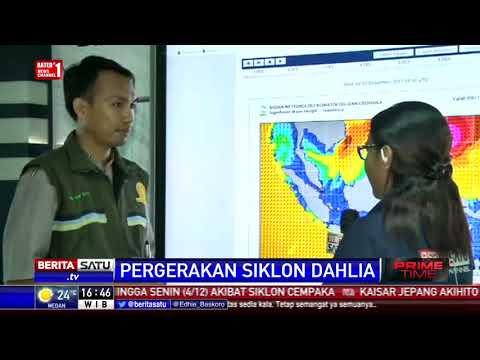 BMKG: Siklon Dahlia Bergerak Menjauhi Bagian Selatan Indonesia