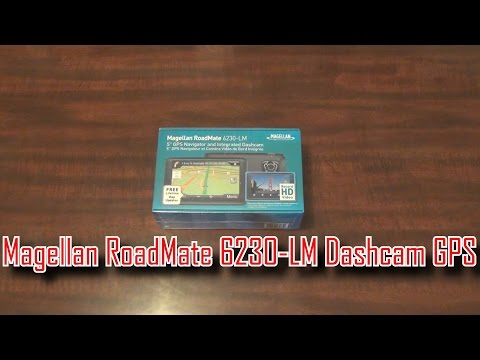 [HD] Unboxing/Review: Magellan Roadmate GPS And Dashcam