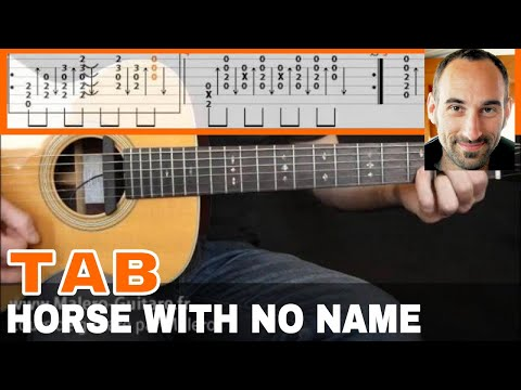A Horse With No Name Guitar Tab