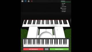 Tokyo Ghoul OP - Entwirren Sie auf einem ROBLOX Klavier.
