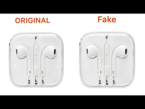 Apple Earphone Original Vs Duplicate