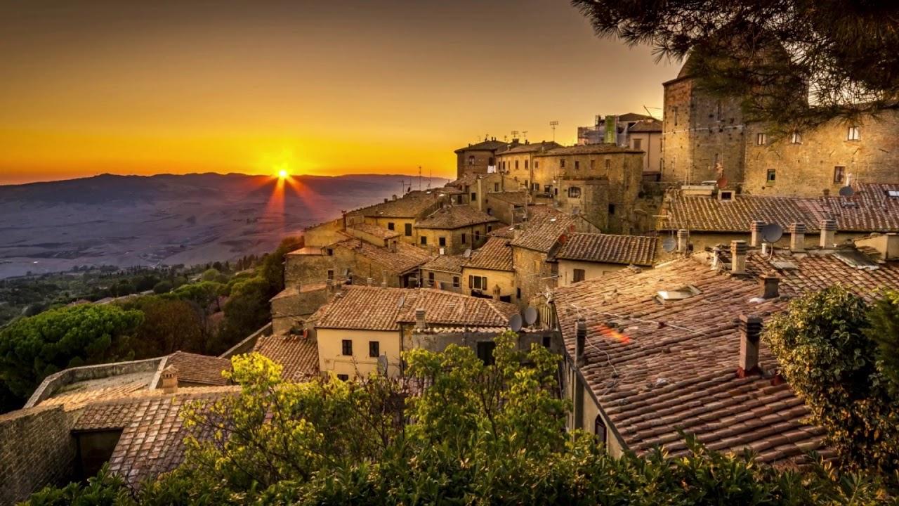 Bellos pueblos de la toscana italia youtube for Be italia