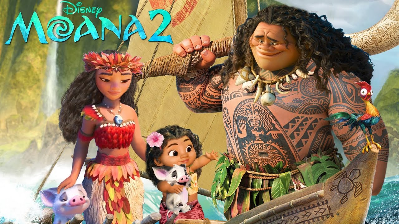 Download Moana and Maui have a daughter! How far will they go? Vaiana | Alice Edit!