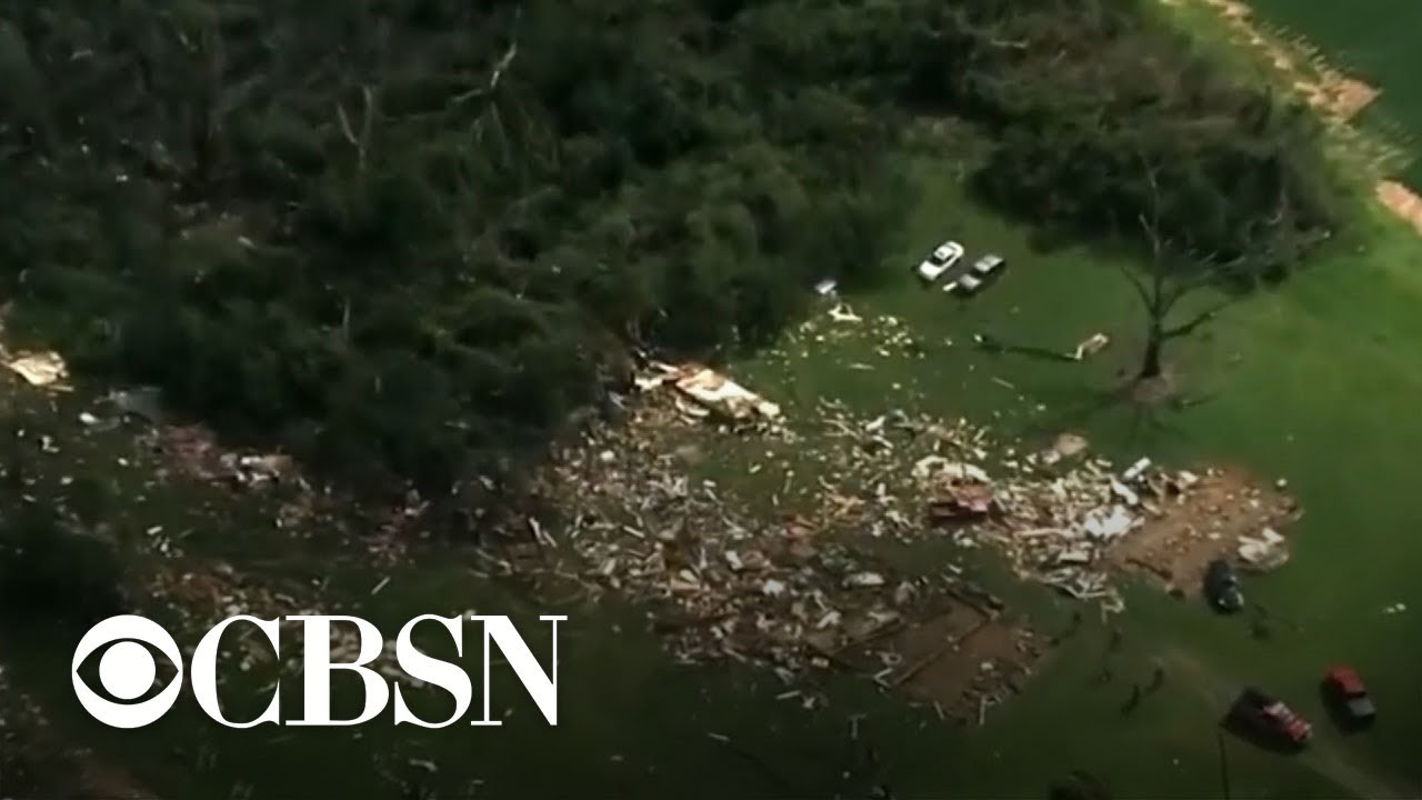 At least 2 dead after tornado rips through area hit by Tropical Storm Isaias