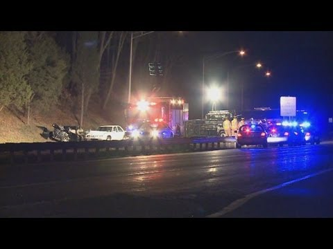 Two killed in wrong way crash