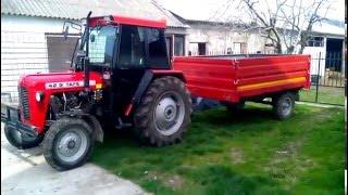 Traktor Tafe 42 DI Muhadin in Sas Ulcinj Tuning