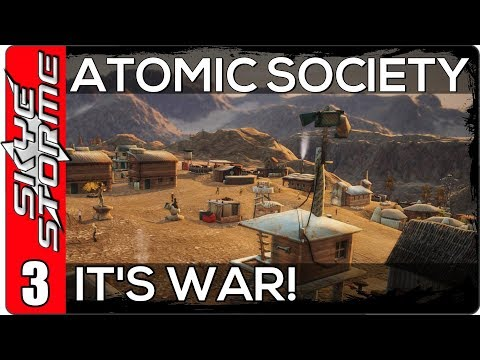 Atomic Society Part 3 ◀ IT'S WAR! ... AND WE HANG OUR FIRST VEGETARIAN ▶