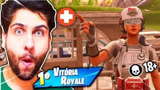 I SENT GENERAL TO THE HOSPITAL WITH THE SKIN * NEW * PARAMEDIC! -Fortnite: Battle Royale