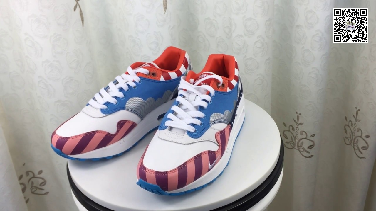 check out 06aa0 77b7d Nike Air Max 1 Parra 2018 Friends  Family AT3057-100
