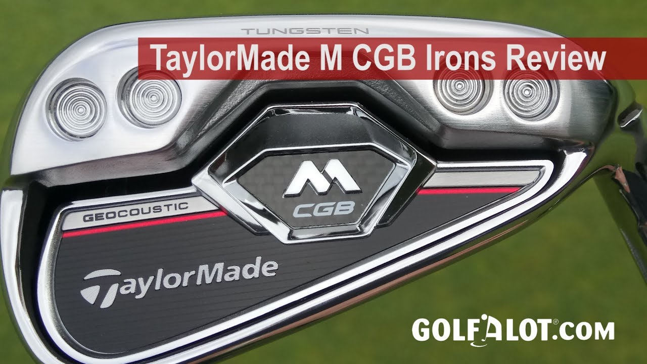 TaylorMade M CGB Irons Review - Golfalot
