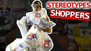 Stereotypes: Shoppers