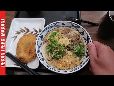 Mie Udon Mantab di Marugame Udon - #PEKAN2