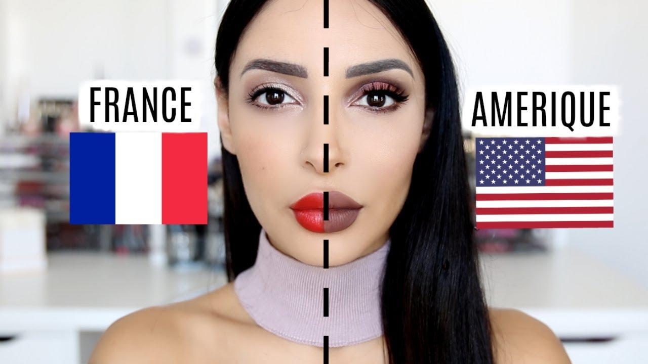 MAKE UP USA 🇺🇸 VS MAKE UP FRANÇAIS 🇫🇷