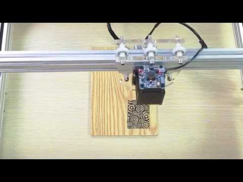 10% Off | How to use | 5.5W DIY Violet Laser Engraving Machine review | Q&A | CNC | Benbox setting