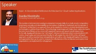 A Decentralized Reference Architecture for Cloud-native Applications by Asanka Abeysinghe