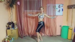 """Урок 3. Секрет исполнения """"Ключа"""" в восточном танце."""