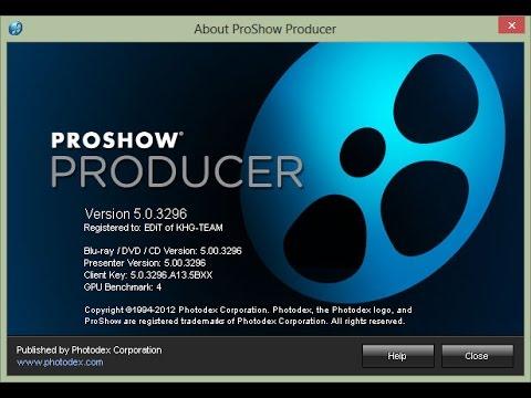 Как сохранить видео в proshow producer