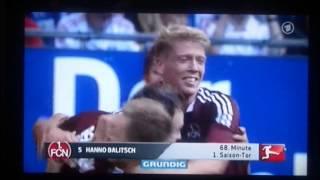 Hanno Balitsch vs. Hamburg 1:0 Das Tor!