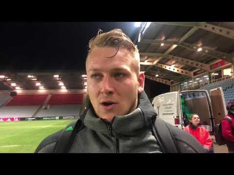 Alex Dombrandt on Harlequins' 23-19 win over Gloucester