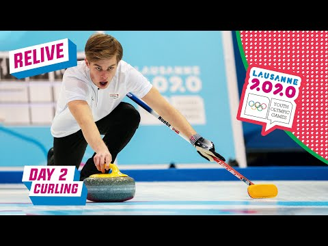 RELIVE - Curling - Slovenia vs Norway - Day 2 | Lausanne 2020