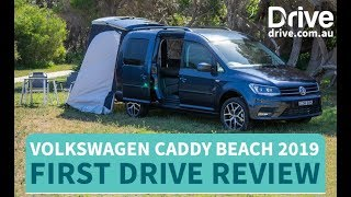 Volkswagen Caddy Beach 2019 First Drive Review | Drive.com.au