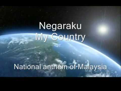 Negaraku National Anthem Of Malaysia Youtube