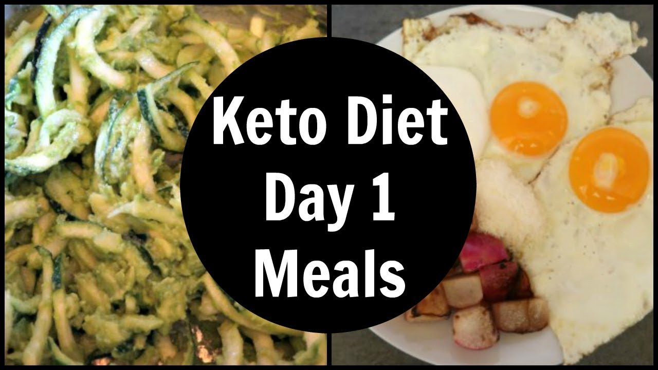 keto diet day one