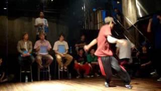 2009年5月23日 東洋大学SnowDancerイベント ブレイクダンスバトル.