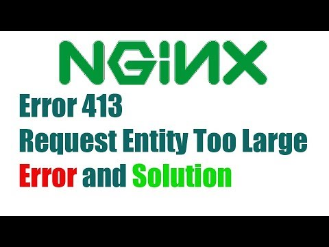 Rocket Chat 20 Error 413 Request Entity Too Large Error And