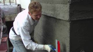 Basic plastering skills, Why, how to apply a Scratch coat in stucco