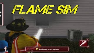 Flame Sim Gameplay - Best Firefighting Game/Simulator