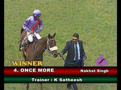 Once More with Nakhat Singh up wins The Prince Regent Plate 2018