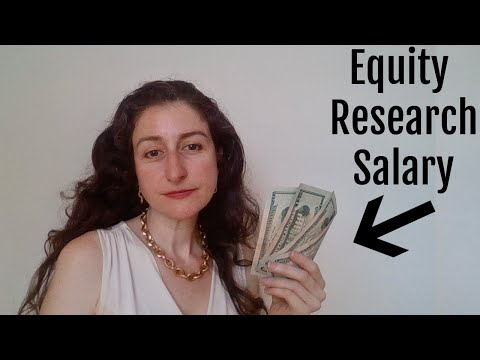 Entry Level Equity Research Analyst Salary: How Much Money $$$ Equity Research Analysts make