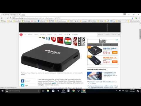 Android Tv Box Now ILLEGAL IN CANADA. (to Sell Fully Loaded)