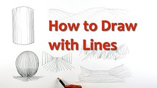 Drawing for Beginners: PART 2 - Draw with Lines