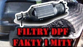 """Filtr cząstek stałych  DPF GPF I FAP.  """"FAKTY i MITY"""""""