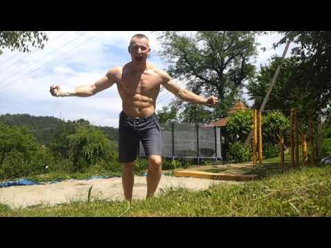 Double Backflip On Ground- Hard training