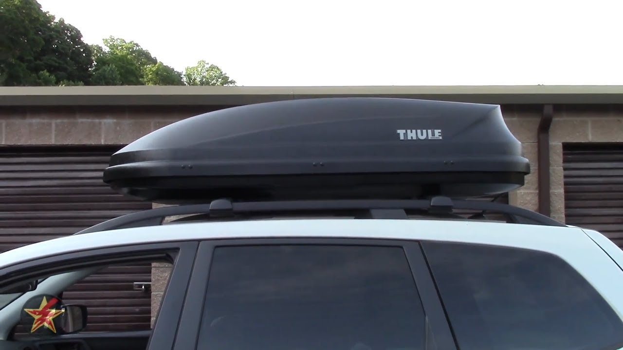 Thule Pulse M Cargo Box 614 Review Youtube