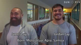 TP PLUS: Samoan brothers James and Jordan Lay