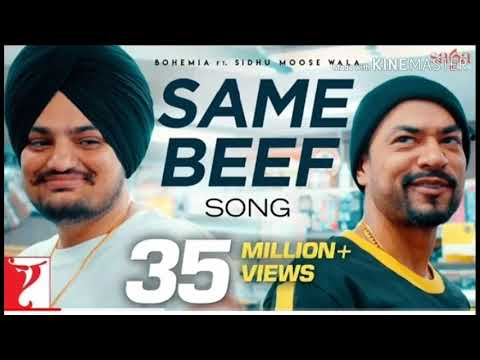 Download Lagu  Same / beef / same beef / bohemia ft sidhu moose wala /  song / latest panjabi song 2019 Mp3 Free