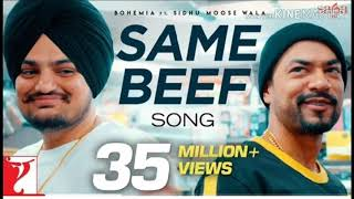 Same / beef / same beef / bohemia ft sidhu moose wala / official song / latest panjabi song 2019