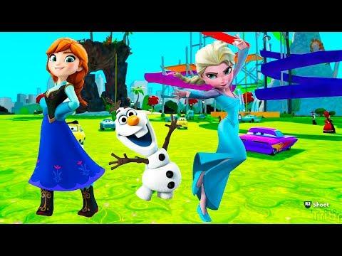 Игры для девочек холодное сердце мультфильм