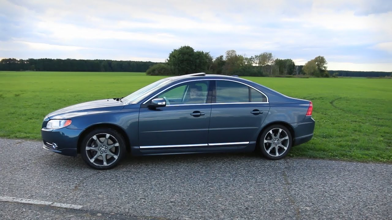 2016 Volvo S80 >> Custom exhaust on a Volvo S80 4.4 V8 (Stage 1) - YouTube
