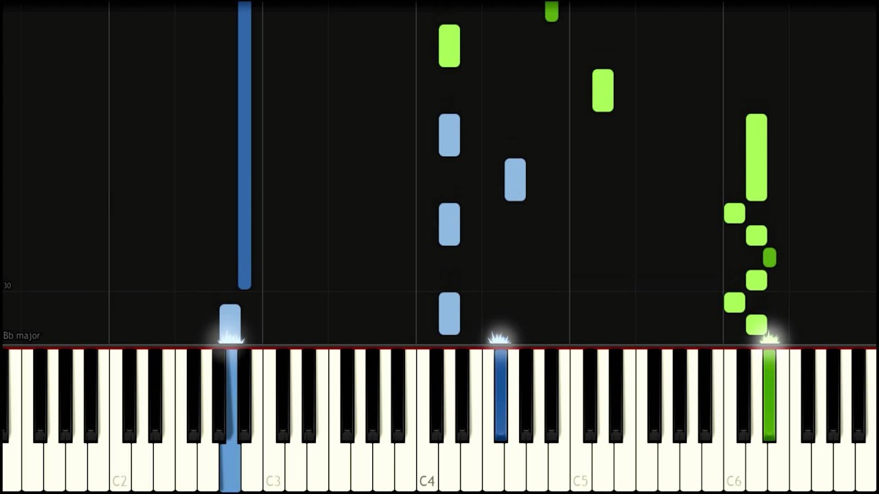 Clubbed to death (Matrix) - Synthesia (Sheet/midi)