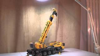 Kids Play Activity - Lego Motivation - Lego Technic Mobile Crane Mk Ii With Power Functions Review