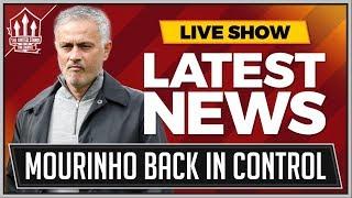 Mourinho Wins United Control! Manchester United News