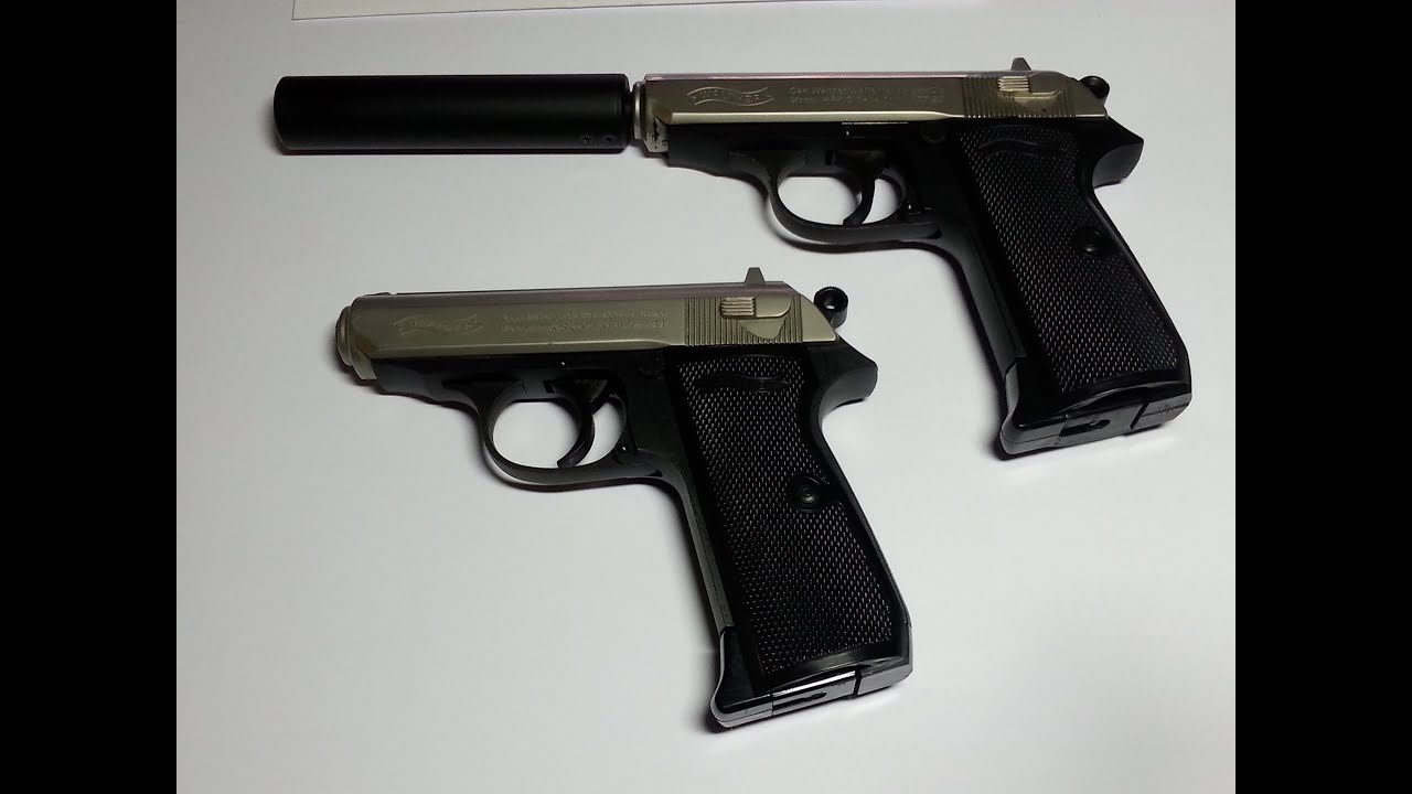 walther ppk s classic 4 5mm bb co2 review schusstest youtube rh youtube com Walther PPK BB Gun PC 88 Walther CO2