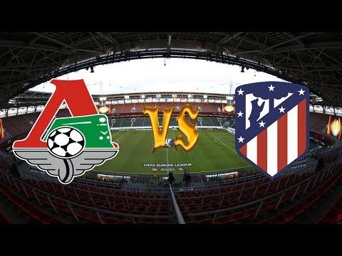 Lokomotiv Moscú vs Atlético 1-5 gol partido completo Europa League | COMENTADO Y ESTADISTICAS